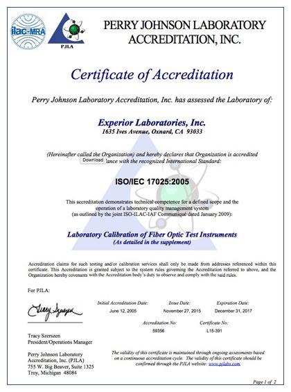 Delightful ISO 17025:2005 Accredited U2013 Testing