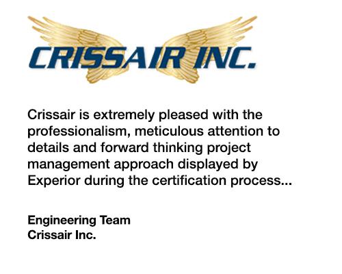 CrissAir Testimonial